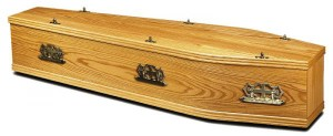 Coffin from HLHawes.co.uk