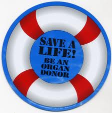 Lifesaver organ donor logo