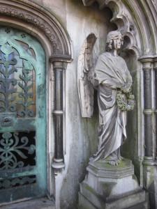 Guarding Mausoleum