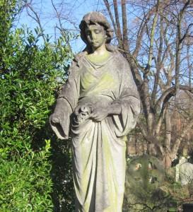 Beautiful Lady Headstone