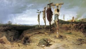 crassus crucified
