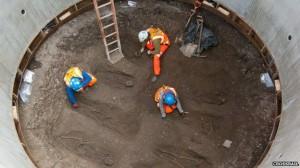 Crossrail shaft